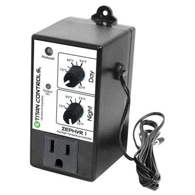 Titan Controls® Zephyr™ 1 - Day/Night Temp Controller