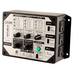 Titan Controls® Saturn® 3 - Digital Temperature, Humidity & CO2 Controller