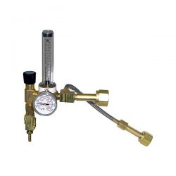 Reg-2 Dual Tank CO2 Regulator & Valve