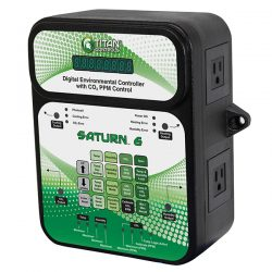 Titan Controls® Saturn® 6 - Digital Environmental Controller with CO2 PPM Control