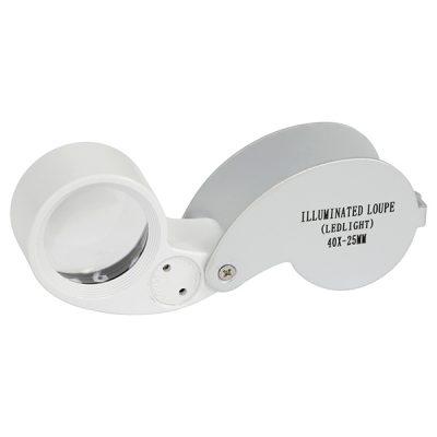 Grower's Edge® Illuminated Magnifier Loupe 40x