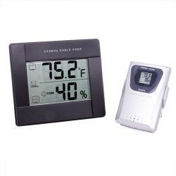 Grower's Edge Thermometer-Hygrometer with Sensor