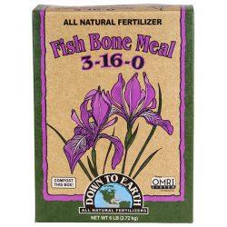 Down To Earth Fish Bone Meal