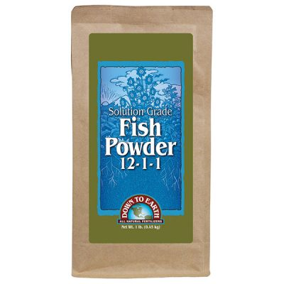 Down To Earth Solution Grade Fish Powder