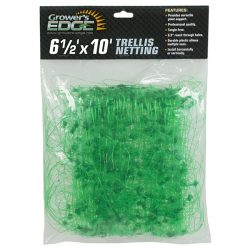 Grower's Edge® Green Trellis Netting 6.5' x 10'