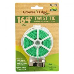 Twist Tie with Cutter 164'