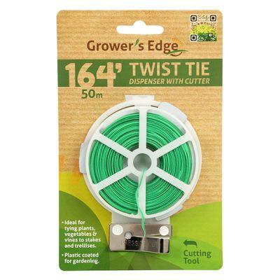 Twist Tie with Cutter 164'