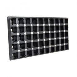 50-Cell Square Plug Prop Tray Insert