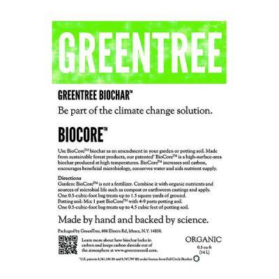GreenTree BioCore™ Biochar™