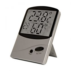 Indoor-Outdoor Thermometer With Hygrometer