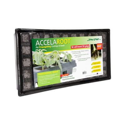 Accelaroot 50 Cell Tray With Plugs