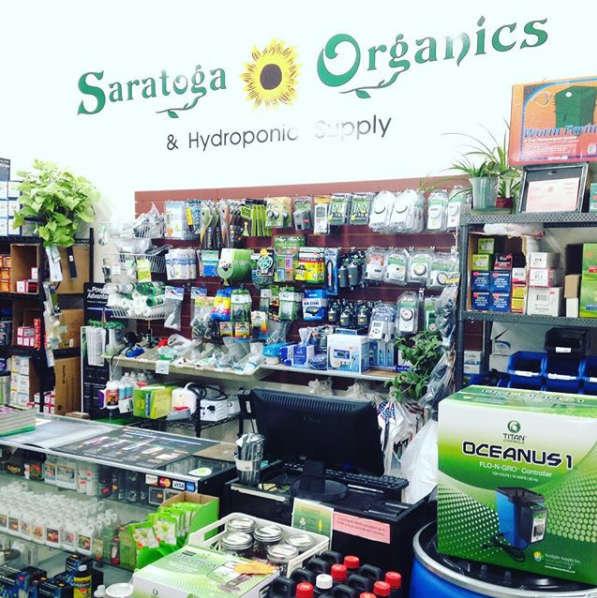 Saratoga Organics store interior