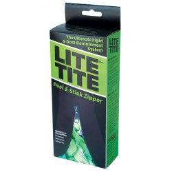 Lite Tite Heavy Duty Peel & Stick Zipper