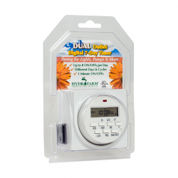 Dual Outlet 7 Day Grounded Digital Programmable Timer