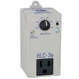HCL-3e High Temp Shutdown w/15 Minute On Delay