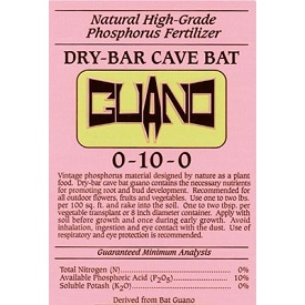 Dry-Bar Cave Bat Guano