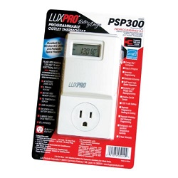 LuxPro® Programmable Outlet Digital Thermostat - PSP300