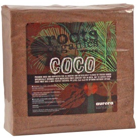 Roots Organics Compressed Coco Bale