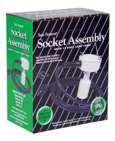 Socket Assembly 5KV w15' Lamp Cord 16 Gauge