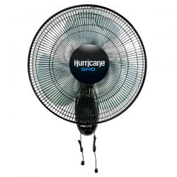 Hurricane SHO Oscillating Wall Mount Fan 16 Inch